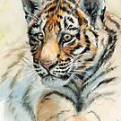 Tiger Cub portrait 865 by schukinart