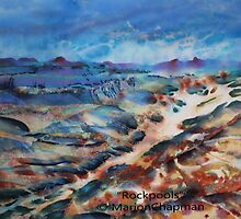 Mixed Media: Rockpools by Marion Chapman