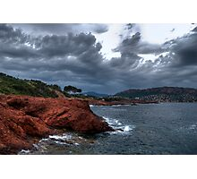 Cap Esterel,France-mediterranean Photographic Print