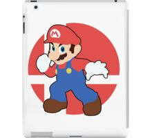 Mario - Super Smash Bros. For Wii U And 3DS iPad Case/Skin