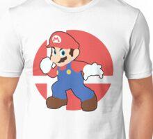 Mario - Super Smash Bros. For Wii U And 3DS Unisex T-Shirt