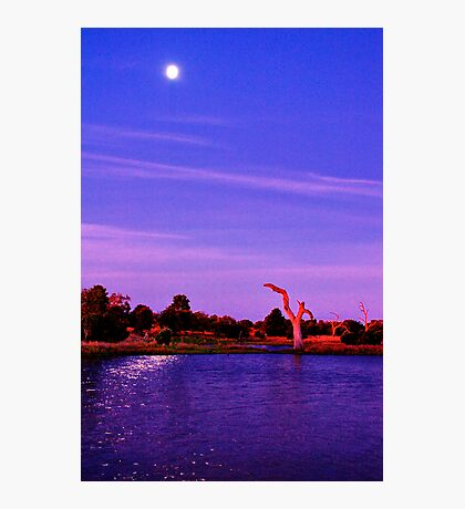 """Moonlight Over Minya"" Photographic Print"
