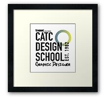 CATC Design School Graphic Designer Framed Print