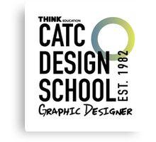 CATC Design School Graphic Designer Canvas Print