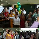 50 years later, the school captain speaks and the ex-students sing.  by MrJoop