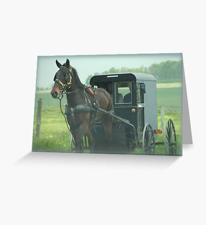 Lancaster County Greeting Card