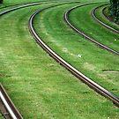 Tramrails by Arie Koene