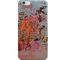Unique Burnt Abstract iPhone Case/Skin