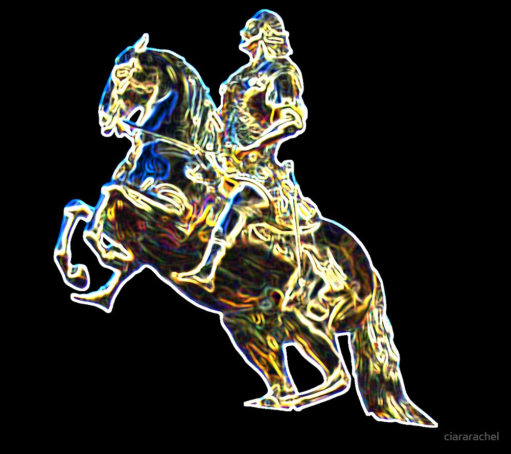 The Golden Statue by ciararachel