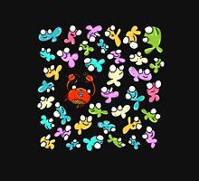 Happy Crab and Fish Unisex T-Shirt