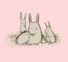 Bunny Family Kids Tee