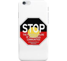 OFFICIAL MERCHANDISE - #SOSBLAKAUSTRALIA design 2 iPhone Case/Skin