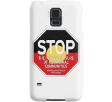 OFFICIAL MERCHANDISE - #SOSBLAKAUSTRALIA design 2 Samsung Galaxy Case/Skin