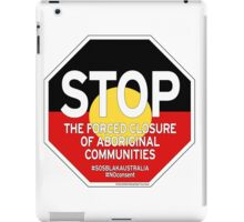 OFFICIAL MERCHANDISE - #SOSBLAKAUSTRALIA design 2 iPad Case/Skin
