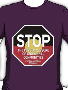 OFFICIAL MERCHANDISE - #SOSBLAKAUSTRALIA design 2 T-Shirt
