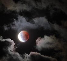 Lunar Eclipse Easter 2015 by Georgie Sharp