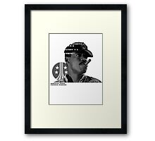 Aliens (Sgt. Apone´s speech) Framed Print