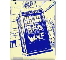 Bad Wolf - TARDIS  iPad Case/Skin