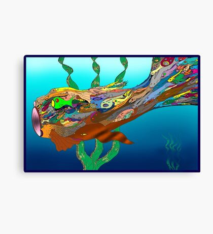 Fish - Plural Canvas Print