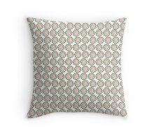 Jigsaw pattern design Throw Pillow