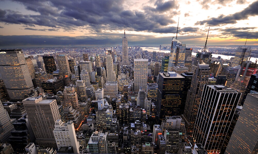 Rockefeller's View by Dominic Kamp