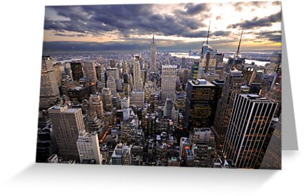 Rockefeller's View by Dominic Kamp