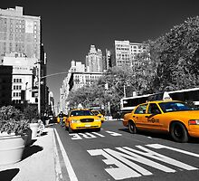 New York Taxi 2 by Dominic Kamp