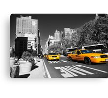 New York Taxi 2 Canvas Print