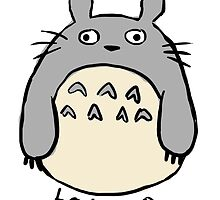 Messy Totoro Doodle by simbah