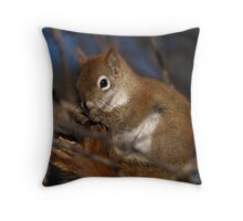Grooming Tail End Throw Pillow