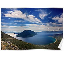 Ionian panorama from Xiromero Poster