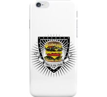 doubleburger shield iPhone Case/Skin