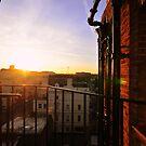 Sunny Balcony by Dominic Kamp