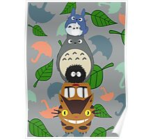 Totem Totoro - BEST FOR SAMSUNG CASES Poster