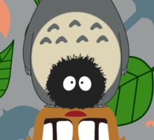 Totem Totoro - BEST FOR SAMSUNG CASES Sticker