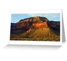 South Canyon Rim Greeting Card