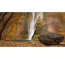 Lower Calf Creek Falls, Utah Photographic Print