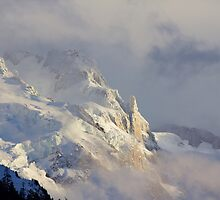 Mont Blanc Massif by Tom Page