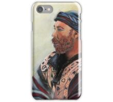 The Watcher Pastel portrait painting iPhone Case/Skin