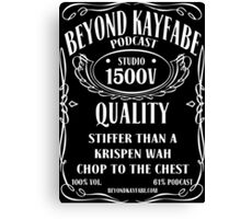 Beyond Kayfabe Podcast - Jack Canvas Print
