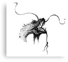 Dragon's head Canvas Print