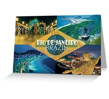 Rio - Brazil Greeting Card