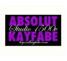 Beyond Kayfabe Podcast - Absolut Art Print