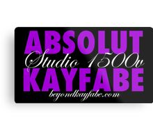 Beyond Kayfabe Podcast - Absolut Metal Print