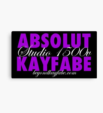 Beyond Kayfabe Podcast - Absolut Canvas Print