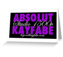 Beyond Kayfabe Podcast - Absolut Greeting Card