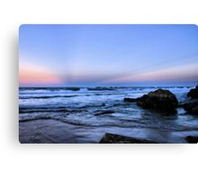 Miami Beach Sunset Canvas Print