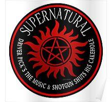 Supernatural Driver pricks the music  Poster