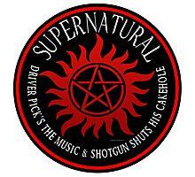 Supernatural Driver pricks the music  Photographic Print