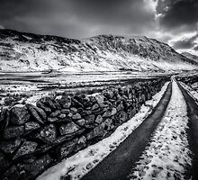 Nant Ffrancon Pass by Adrian Evans